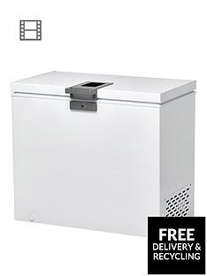 Hoover HMCH 302 EL 300-Litre Chest Freezer - White