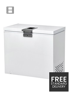 hoover-hmch-302-el-300-litre-chest-freezer-white