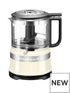 KitchenAid Mini Food Processor - Almond Cream
