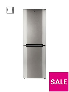 Hoover HMNB6182XK 60cm Total No Frost Fridge Freezer - Stainless Steel