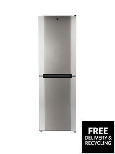 Hoover HMNB6182XK 60cm Total No Frost Fridge Freezer - Stainless Steel