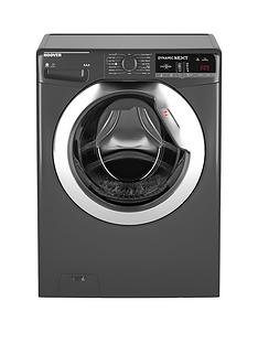 Hoover Dynamic NextWDXOA4106HCR 10kg Wash,6kgDry, 1400 Spin Washer Dryer with One Touch - Graphite/Chrome