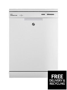 Hoover AXI HDPN 2L620OW 16-Place Full Size Dishwasher - White