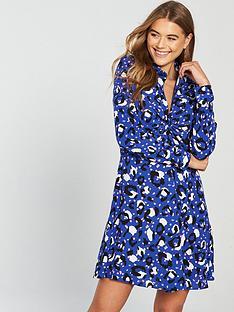 v-by-very-coloured-animal-dress-blue-printed