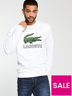 lacoste-sportswear-big-croc-logo-crew-neck-sweat-white