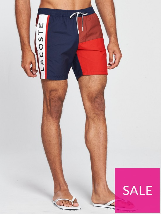 5935f58dbe Lacoste Sportswear Sportswear Swim Shorts | very.co.uk