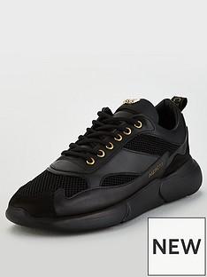 mercer-w3rd-gum-leather-trainer