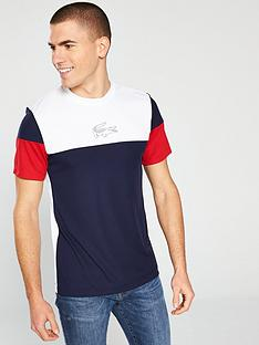 f7384cf2fdb9 Lacoste Colour Block T-Shirt - Multi
