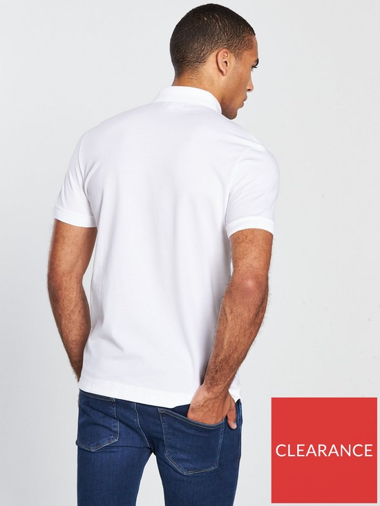 70e12d54b4 Lacoste Sportswear Paris Polo - White | very.co.uk