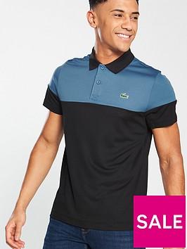 lacoste-colour-block-polo-shirt-blacknavy