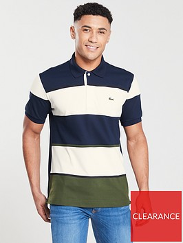 lacoste-sportswear-striped-polo-ecrumarine