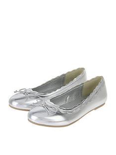 accessorize-girls-silver-scalloped-edge-ballerina-shoe