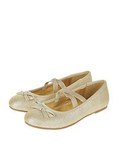 accessorize-girls-gold-tie-bow-ballerina-shoe