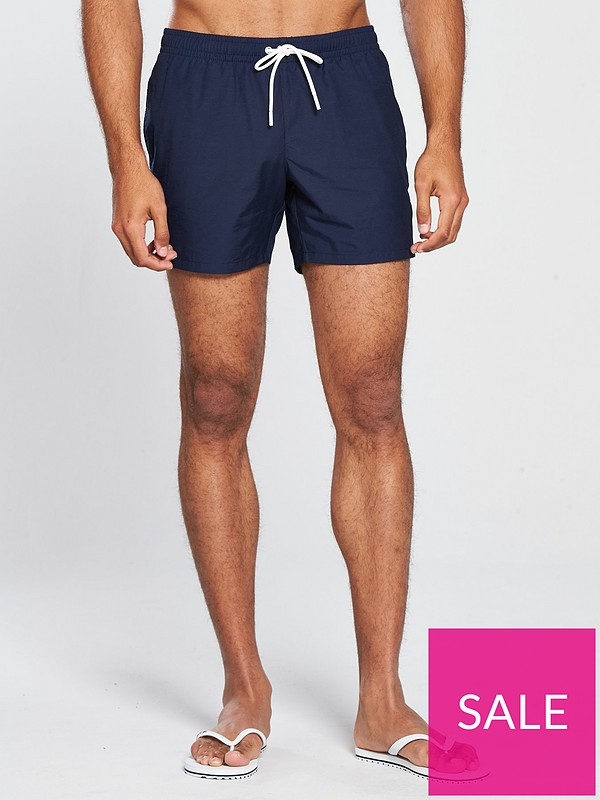 a7b0479acb Lacoste Sportswear Sportswear Swim Shorts – Navy | very.co.uk