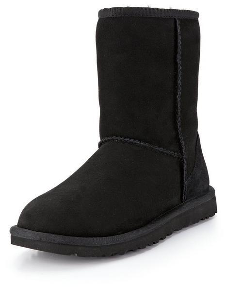 ugg-classic-short-ii-calf-boots-black
