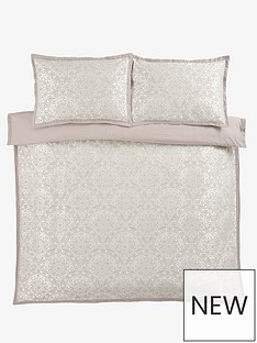 ideal-home-mosaic-jacquard-duvet-cover-set