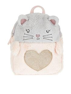 accessorize-girls-charlotte-cat-fluffy-backpack