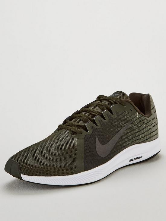 c74e390b349 Nike Downshifter 8 Trainers - Khaki   very.co.uk