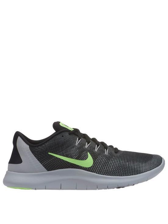ac5d629e8f4b Nike Flex 2018 RN - Black Grey Volt