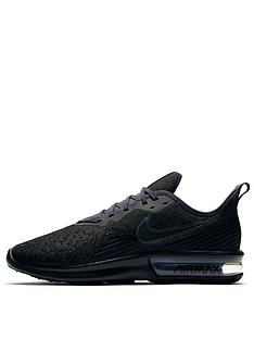 9938439aaa13 Nike Air Max Sequent 4 - Black Black