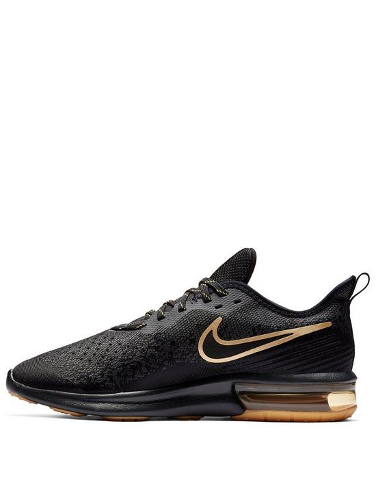 quality design ea8c3 befbe Nike Air Max Sequent 4 - Black Gold