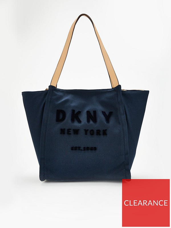 1946b1fa185 Courtney Canvas Tote Bag - Navy