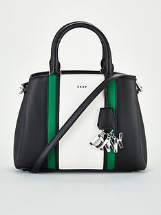 dkny-paige-sutton-leather-medium-satchel-bag-black