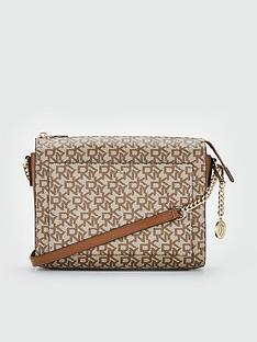 5a81bc6d50e DKNY Dkny Bryant Box Logo Medium Crossbody Bag