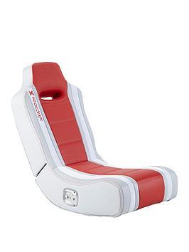 X Rocker Hydra 2.0 Floor Rocker Gaming Chair - Red