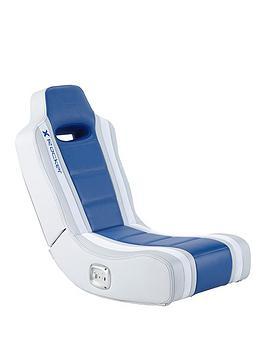 X Rocker Hydra 2.0 Floor Rocker Gaming Chair - Blue