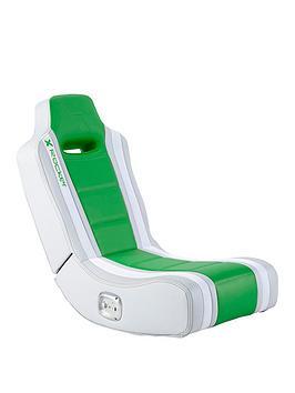 X Rocker Hydra 2.0 Floor Rocker Gaming Chair - Green