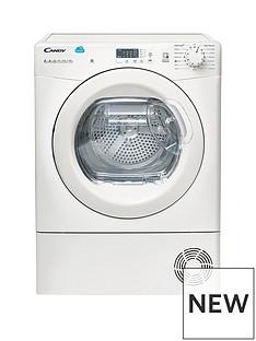Candy CS H8A2LE 8kg Heat Pump, Sensor Tumble Dryer with Smart Touch - White