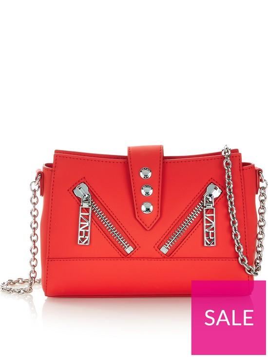 9235a89c Kenzo Kalifornia Mini Shoulder Bag - Red   very.co.uk
