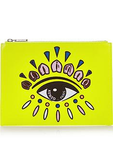 kenzo-embellished-eye-pouch-lemon