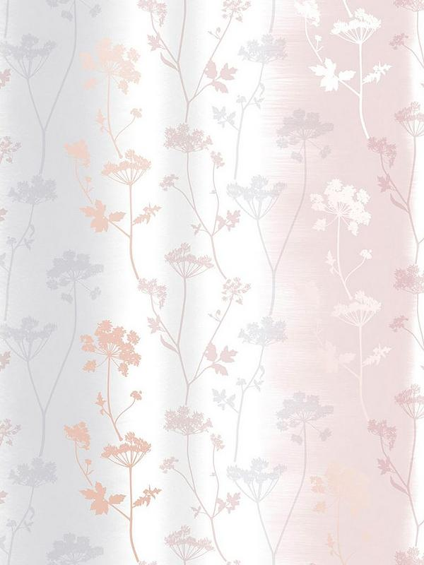 Sublime Summertime Blush Rose Gold Wallpaper