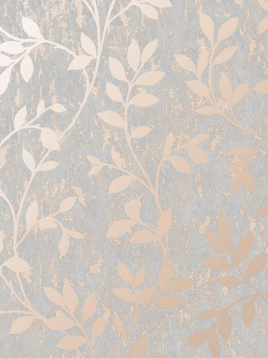 Superfresco Milan Trail Wallpaper – Rose Gold