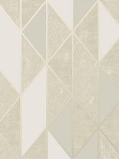 superfresco-milan-geo-taupe-wallpaper