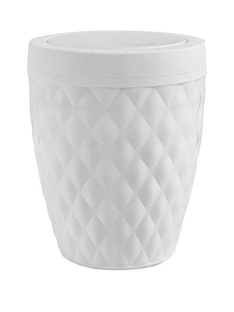 addis-diamond-finish-5-litre-bathroom-bin