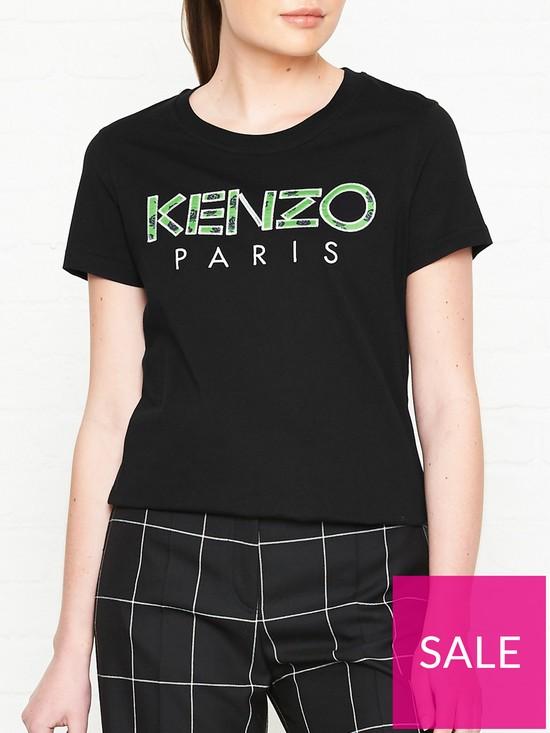 511f56fc0 Kenzo Logo T-shirt - Black | very.co.uk