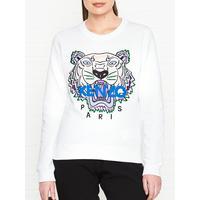 cb0764d18 Kenzo Tiger Classic Sweatshirt - White | very.co.uk