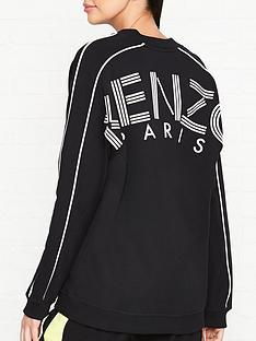 kenzo-v-neck-logo-back-logo-sweatshirt-black
