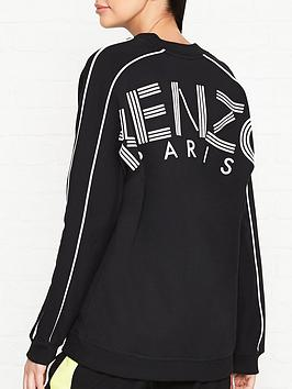 kenzo-v-neck-logo-back-logo-sweatshirt-black