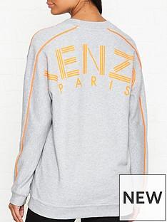 kenzo-v-neck-back-logo-sweatshirtnbsp--grey-marl