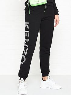 65fa983fc2f6 Kenzo Logo Sport Jogging Pants - Black