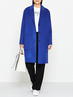 kenzo-button-through-wool-coatnbsp--blue