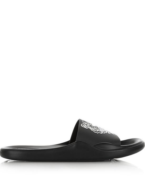 28ed5616 Kenzo Tiger Logo Sliders - Black | very.co.uk