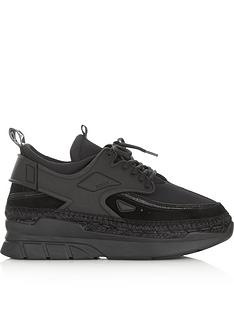 kenzo-k-lastic-espadrille-trainers-black