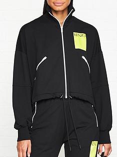 kenzo-zip-through-logo-track-jacket-black
