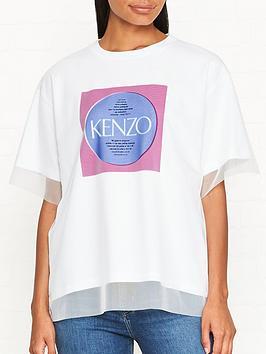 kenzo-square-logo-double-layer-mesh-t-shirt-white