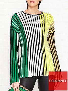 kenzo-rainbow-flared-sleeve-rib-jumpernbsp-nbspmulti